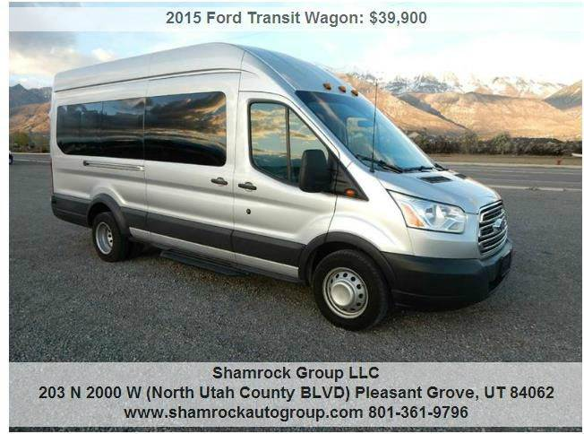 2015 ford transit wagon 350 xlt hd 3dr lwb high roof drw extended passenger van w sliding. Black Bedroom Furniture Sets. Home Design Ideas