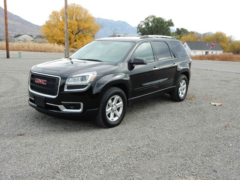 2016 gmc acadia awd sle 2 4dr suv in pleasant grove ut shamrock group llc 1. Black Bedroom Furniture Sets. Home Design Ideas