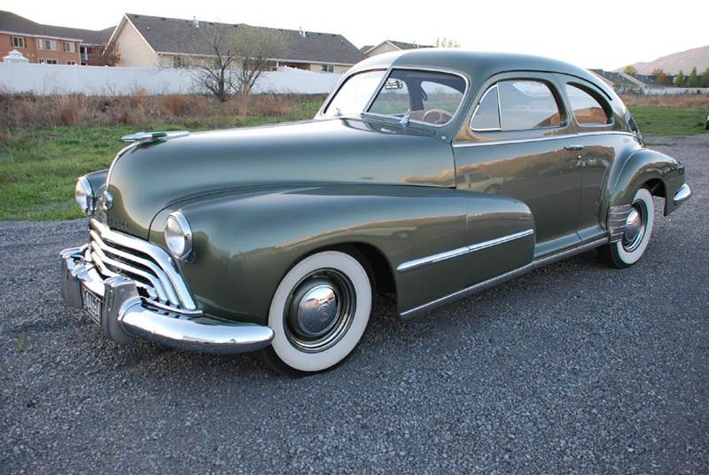 1948 oldsmobile fastback in pleasant grove ut shamrock for 1948 oldsmobile 4 door sedan