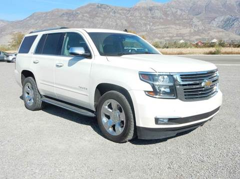 2015 Chevrolet Tahoe for sale in Pleasant Grove, UT