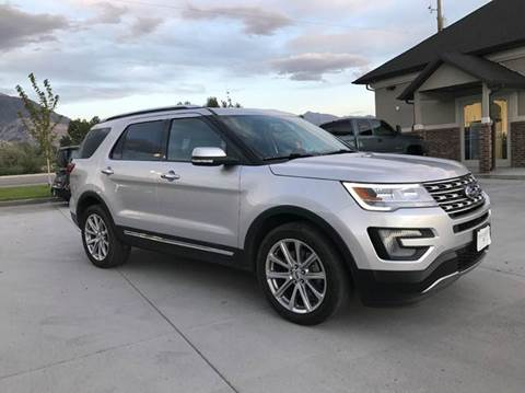 2017 Ford Explorer for sale in Pleasant Grove, UT