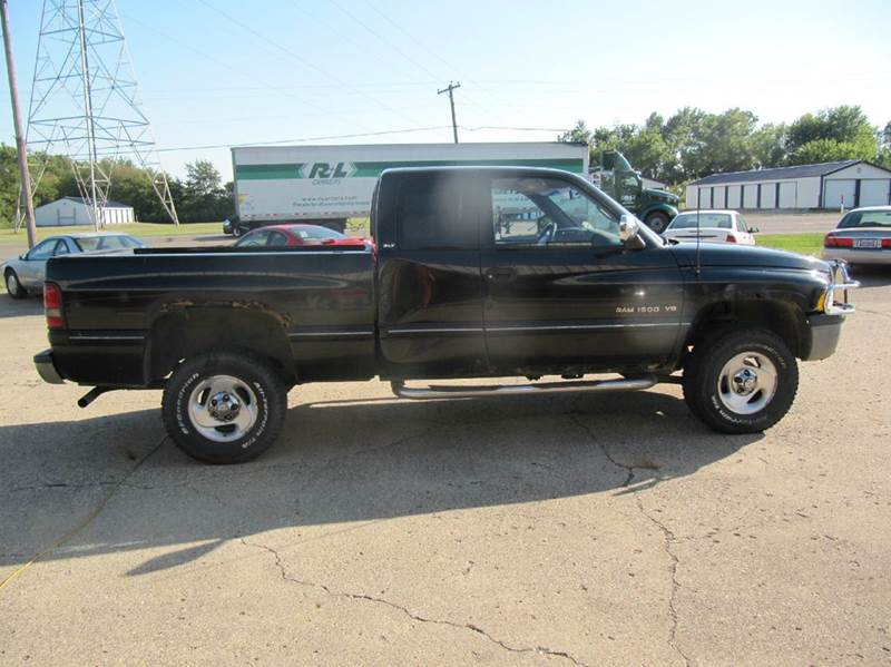 1997 dodge ram pickup 1500 laramie slt 2dr 4wd extended cab sb in attica in indiana. Black Bedroom Furniture Sets. Home Design Ideas