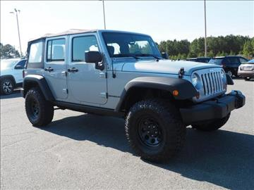 2013 Jeep Wrangler Unlimited for sale in Sanford, NC