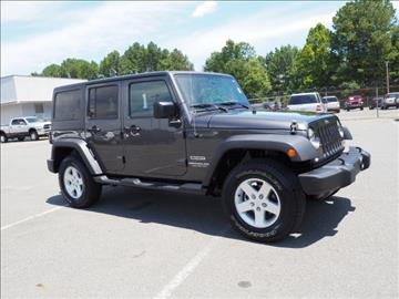 2017 Jeep Wrangler Unlimited for sale in Sanford, NC