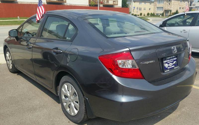 2012 Honda Civic LX 4dr Sedan 5A - Bridgeview IL