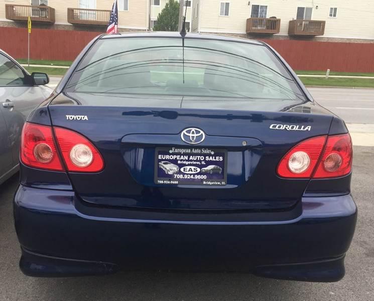 2005 Toyota Corolla LE 4dr Sedan - Bridgeview IL