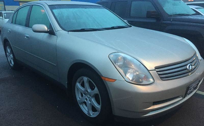 2004 Infiniti G35 AWD 4dr Sedan w/Leather - Bridgeview IL