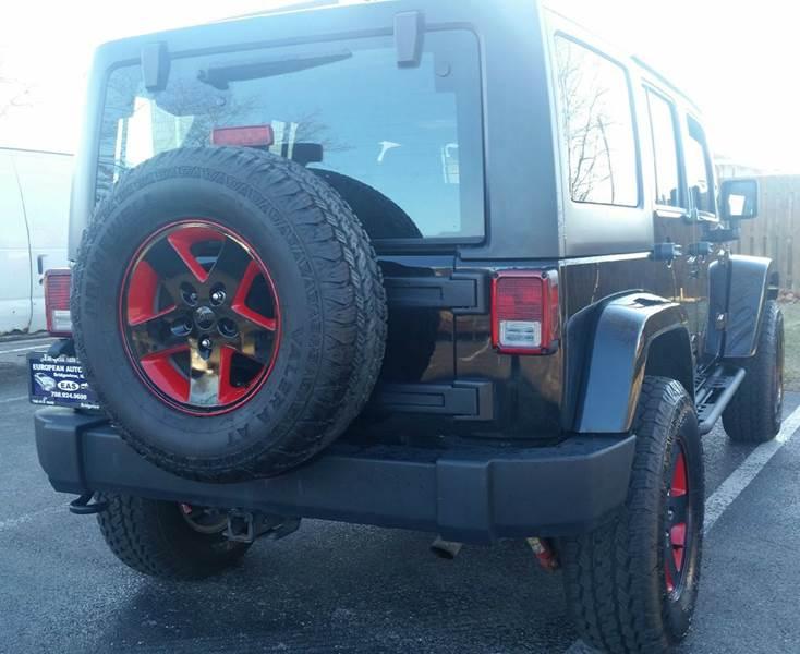 2013 Jeep Wrangler Unlimited Sport 4x4 4dr SUV - Bridgeview IL