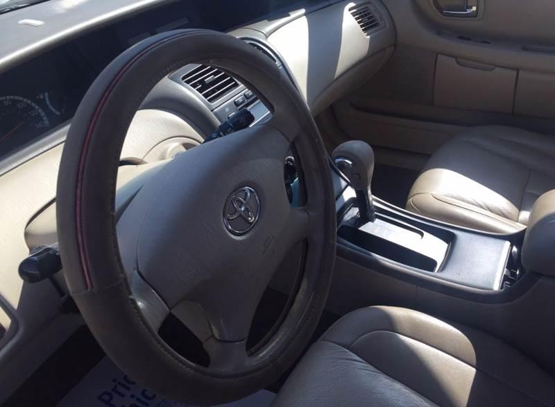 2002 Toyota Avalon XL 4dr Sedan w/Bucket Seats - Bridgeview IL