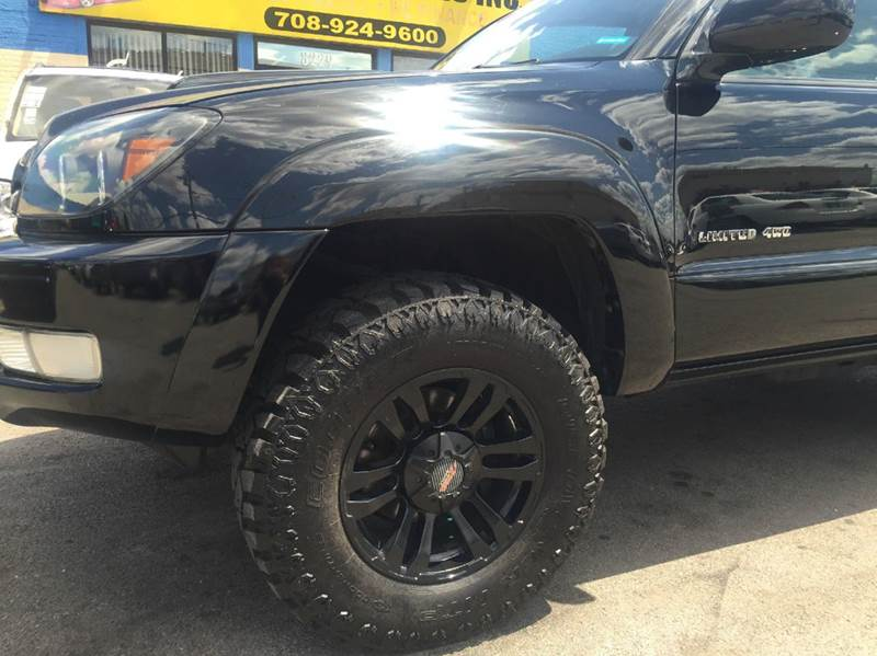2003 Toyota 4Runner Limited 4WD 4dr SUV - Bridgeview IL