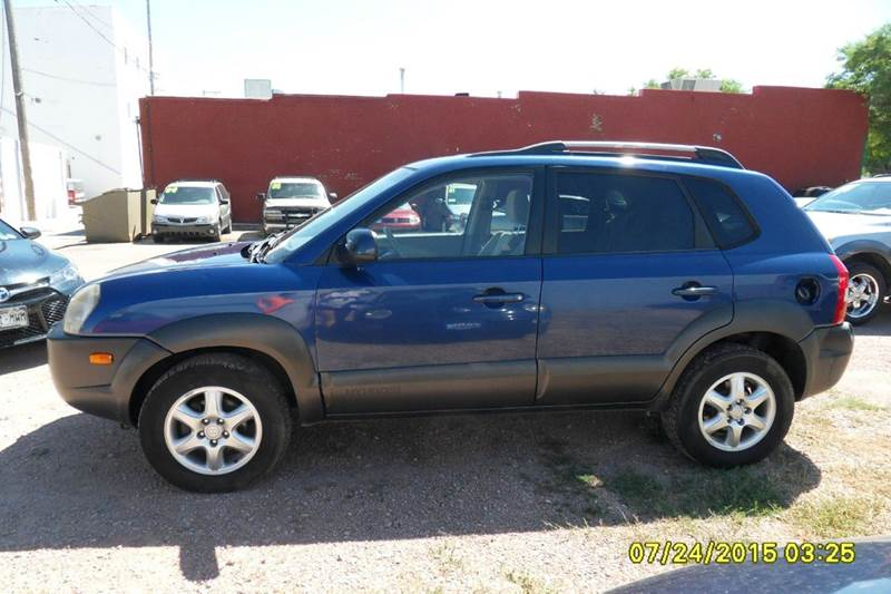 2005 hyundai tucson 4dr gls 4wd suv in chadron ne paris. Black Bedroom Furniture Sets. Home Design Ideas