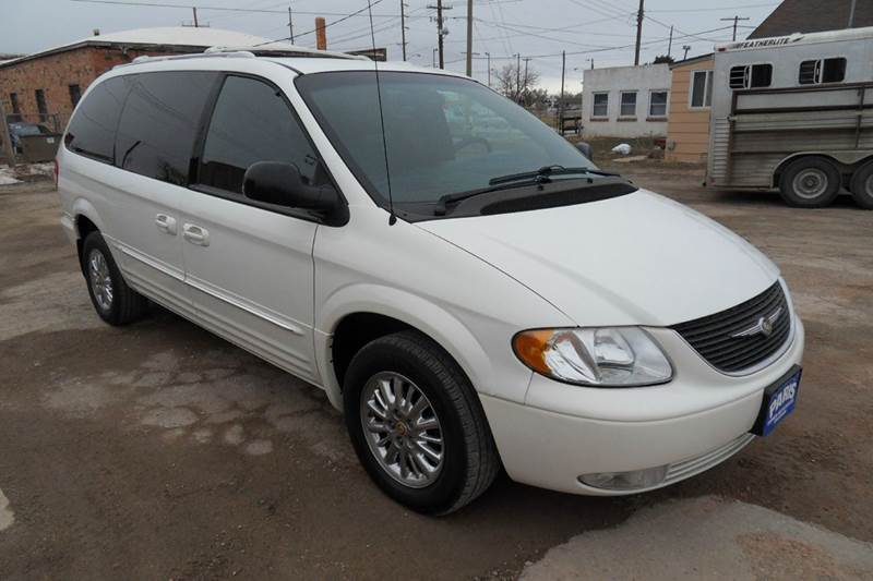 2002 chrysler town and country awd limited 4dr extended mini van in chadron ne paris fisher. Black Bedroom Furniture Sets. Home Design Ideas