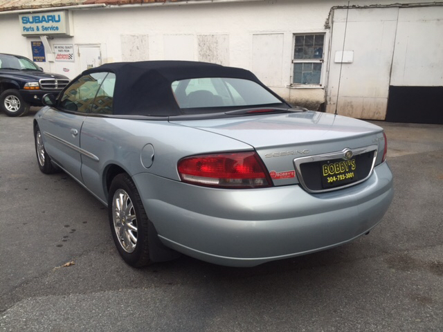 2002 Chrysler Sebring Limited 2dr Convertible - Charles Town WV