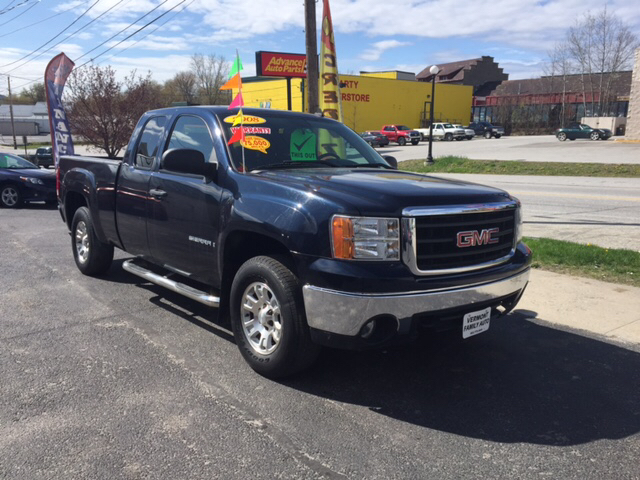 2008 gmc sierra 1500 slt 4wd 4dr extended cab 5 8 ft sb. Black Bedroom Furniture Sets. Home Design Ideas