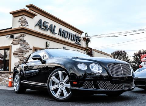 2012 Bentley Continental GT for sale in East Rutherford, NJ