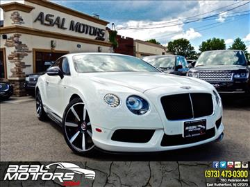 2014 Bentley Continental GT V8 S for sale in East Rutherford, NJ