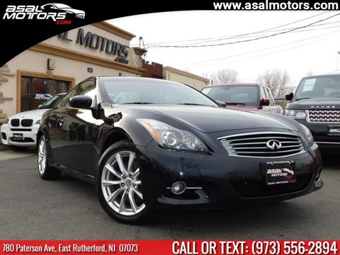 2012 Infiniti G37 Coupe for sale in East Rutherford, NJ