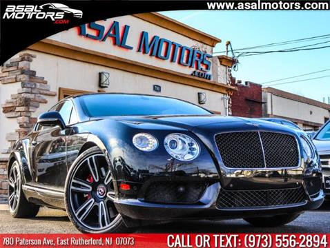 2013 Bentley Continental for sale in East Rutherford, NJ