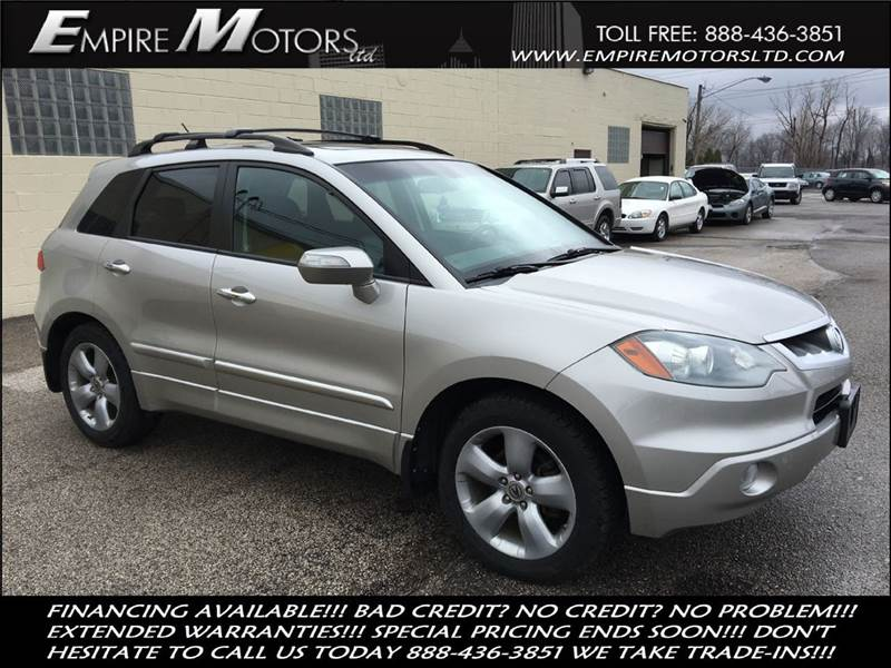 Acura Rdx SHAWD Dr SUV In Cleveland OH Empire Motors LTD - Acura special financing