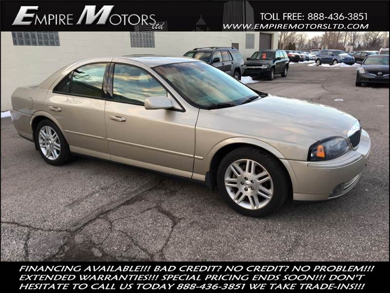 2005 Lincoln Ls V8 >> 2005 Lincoln Ls Sport 4dr Sedan V8 In Cleveland Oh Empire