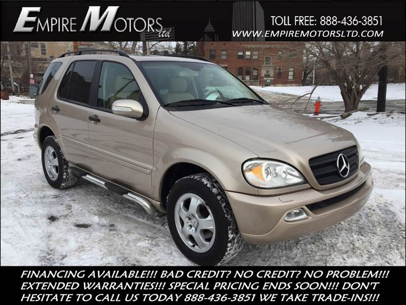 2002 mercedes benz m class ml320 awd 4matic 4dr suv in for Mercedes benz cleveland ohio