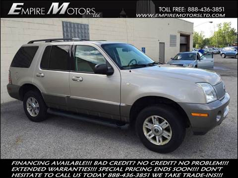 2004 Mercury Mountaineer for sale in Cleveland, OH