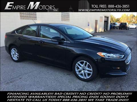 2013 Ford Fusion for sale in Cleveland, OH