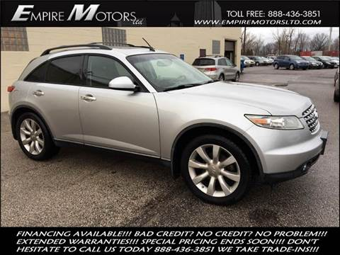2003 Infiniti FX45 for sale in Cleveland, OH