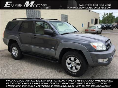 2003 Toyota 4Runner for sale in Cleveland, OH