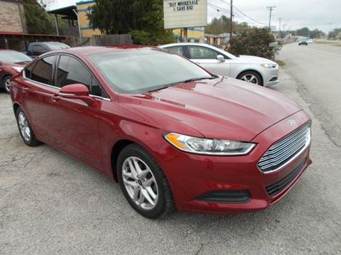 2014 Ford Fusion for sale in Harriman, TN