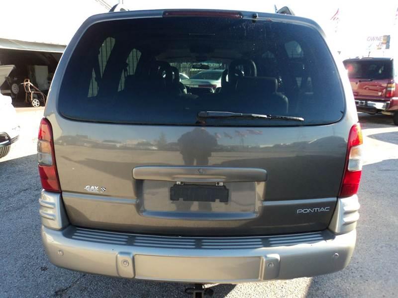2002 Pontiac Montana MontanaVision 4dr Extended Mini-Van - Houston TX