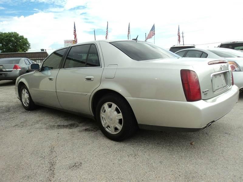 2005 Cadillac DeVille 4dr Sedan - Houston TX