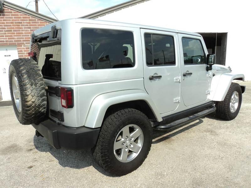 2012 Jeep Wrangler Unlimited 4x4 Rubicon 4dr SUV - Houston TX