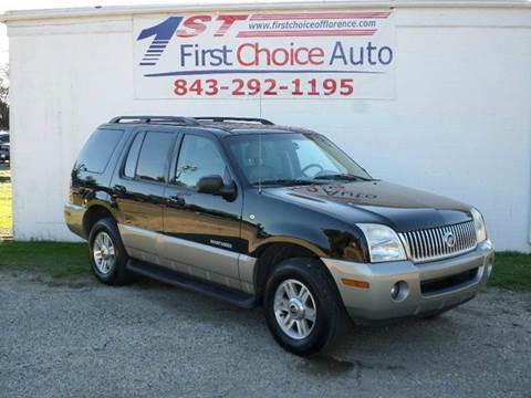 Mercury mountaineer for sale south carolina for Windham motors florence sc