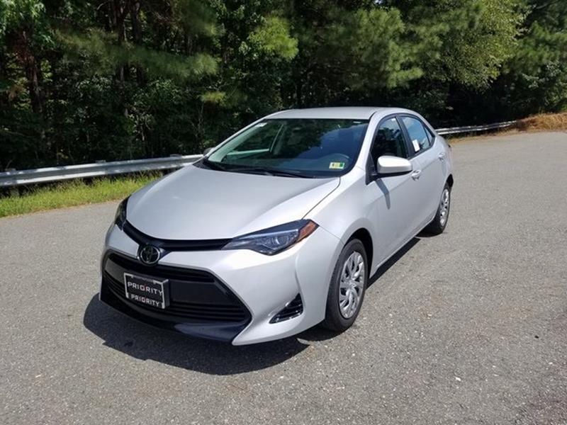 2019 Toyota Corolla LE 4dr Sedan   Chester VA