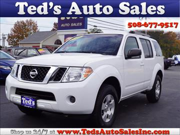 2008 Nissan Pathfinder for sale in Somerset, MA