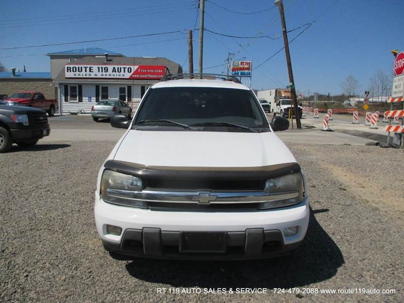 2003 chevrolet trailblazer ext lt 4wd 4dr suv in homer city pa route 119 auto sales svc. Black Bedroom Furniture Sets. Home Design Ideas