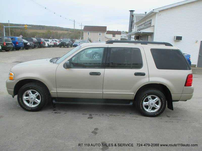 2005 ford explorer 4dr xlt 4wd suv in homer city pa route 119 auto sales a. Cars Review. Best American Auto & Cars Review