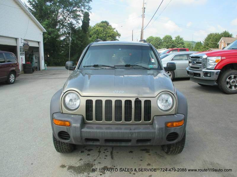 2004 jeep liberty 4dr sport 4wd suv in homer city pa route 119 auto sales svc. Black Bedroom Furniture Sets. Home Design Ideas