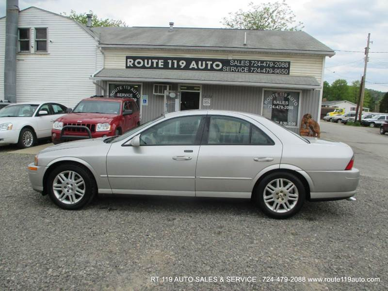 2005 lincoln ls sport 4dr sedan v8 in homer city pa route 119 auto sales svc. Black Bedroom Furniture Sets. Home Design Ideas