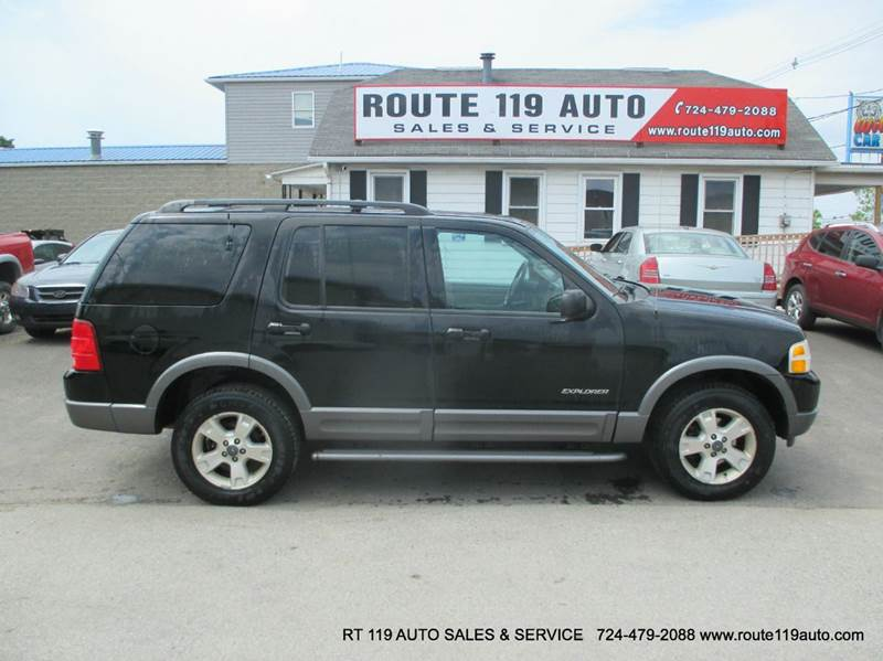 2004 ford explorer 4dr xlt 4wd suv in homer city pa route 119 auto sales svc. Black Bedroom Furniture Sets. Home Design Ideas