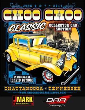 2015 Choo Choo Classic Collector Car Auction June 5-6 2015