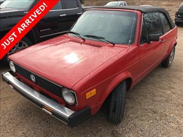 1986 Volkswagen Cabriolet for sale in Greenville, MI