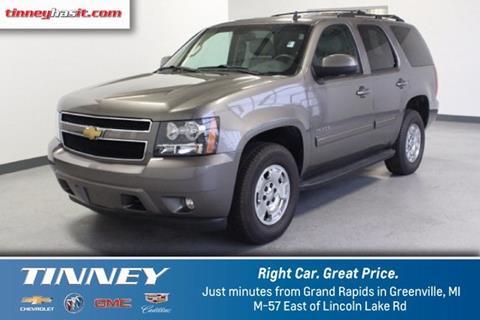 2013 Chevrolet Tahoe for sale in Greenville MI