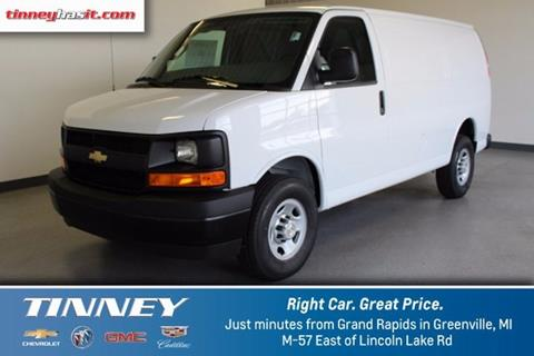 2017 Chevrolet Express Cargo for sale in Greenville, MI