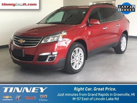 2014 Chevrolet Traverse for sale in Greenville MI