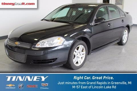2012 Chevrolet Impala for sale in Greenville, MI