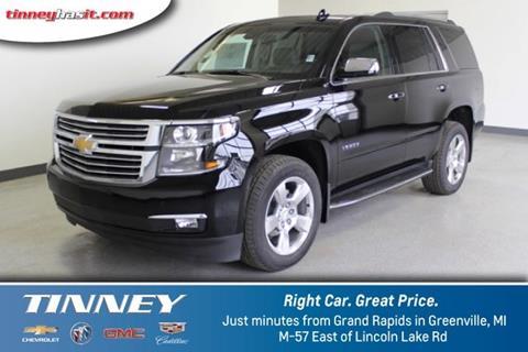 2017 Chevrolet Tahoe for sale in Greenville, MI