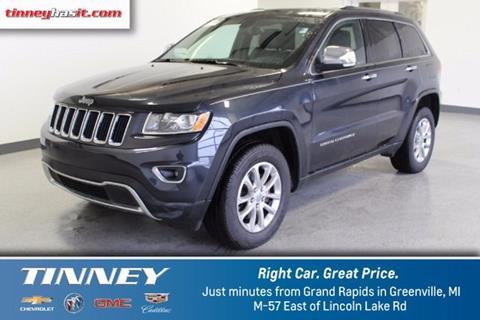 2014 Jeep Grand Cherokee for sale in Greenville, MI
