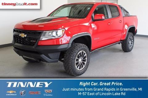 2018 Chevrolet Colorado for sale in Greenville, MI